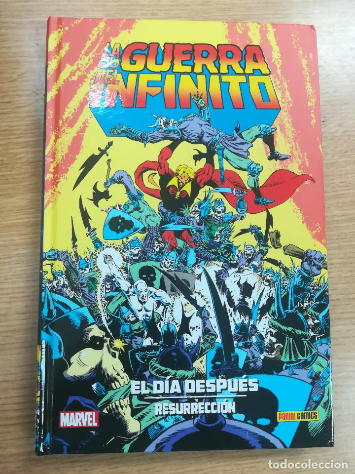 GUERRA DEL INFINITO EL DIA DESPUES RESURRECCION (COLECCION JIM STARLIN #10) (Tebeos y Comics - Panini - Marvel Comic)