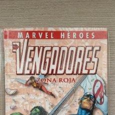 Cómics: LOS VENGADORES ZONA ROJA COLECCIONABLE MARVEL HÉROES NÚMERO 7 CARTONE (PANINI). Lote 136350746