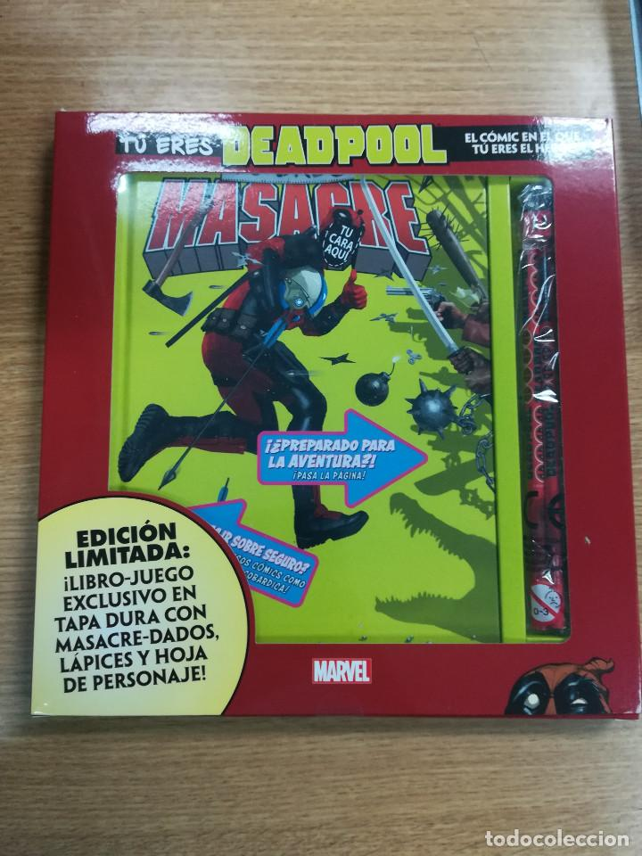 TU ERES MASACRE EDICION ESPECIAL (Tebeos y Comics - Panini - Marvel Comic)
