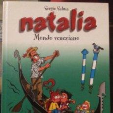 Cómics: NATALIA. MONDO VENEZIANO. CASTERMAN PANINI 2003. DIBUJOS SERGIO SALMA. COLORES DE BRUNO WESEL. Lote 137363470