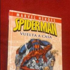 Cómics: SPIDERMAN - VUELTA A CASA - MARVEL HEROES - CARTONE. Lote 137926474