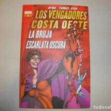 Cómics: MARVEL GOLD LOS VENGADORES COSTA OESTE LA BRUJA ESCARLATA OSCURA. Lote 137994742