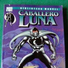 Cómics: EL CABALLERO LUNA Nº 1 BIBLIOTECA MARVEL PANINI. Lote 139032054