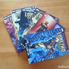 Comics: LOBEZNO OSCURO COMPLETA - 6 TOMOS - MARVEL - PANINI (8K). Lote 139091950