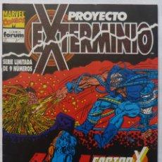 Cómics: COMIC PROYECTO EXTERMINIO,STAN LEE ,NUMERO 6,MARVEL ,FACTOR X. Lote 139249026