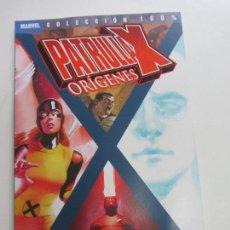 Cómics: PATRULLA X: ORÍGENES Nº 2 (COLECCIÓN 100% MARVEL) 2 TOMO (PANINI) SDX17. Lote 258039700