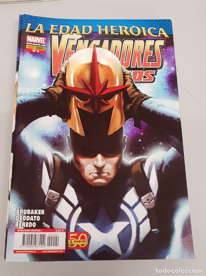 VENGADORES SECRETOS Nº 4 - EDAD HEROICA - ED BRUBAKER / MARVEL PANINI (Tebeos y Comics - Panini - Marvel Comic)