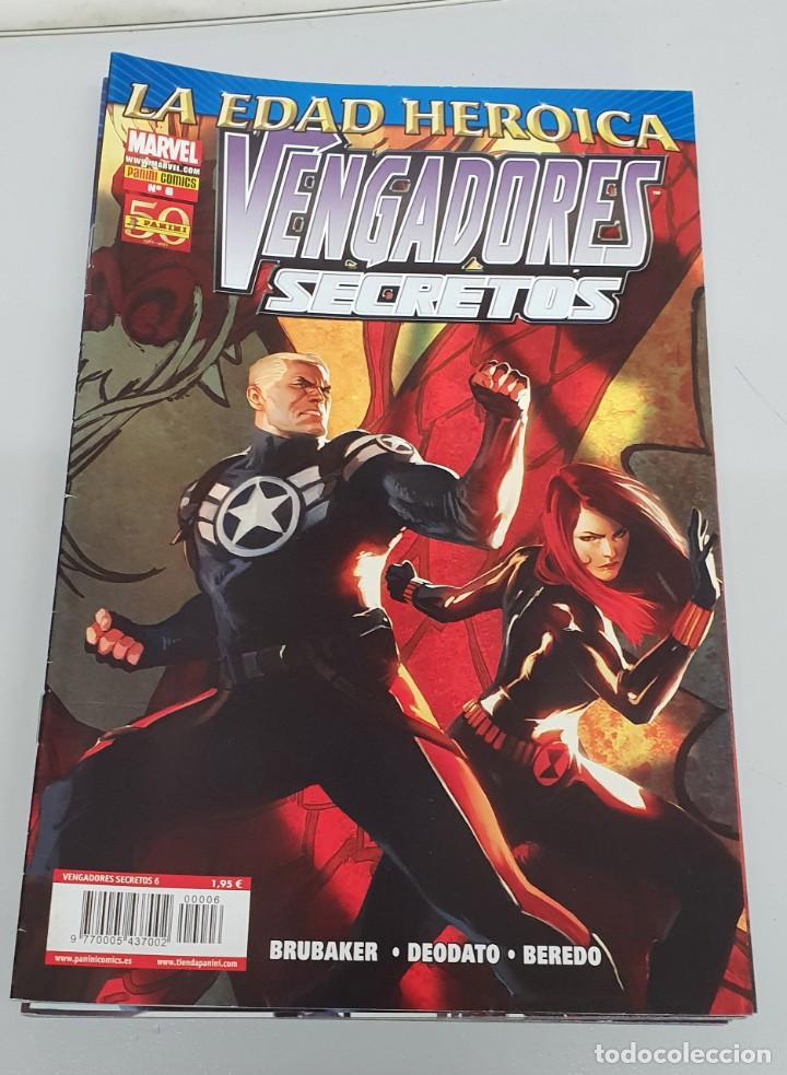 VENGADORES SECRETOS Nº 6 - EDAD HEROICA - ED BRUBAKER - MIKE DEODATO / MARVEL PANINI (Tebeos y Comics - Panini - Marvel Comic)