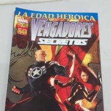 Cómics: VENGADORES SECRETOS Nº 6 - EDAD HEROICA - ED BRUBAKER - MIKE DEODATO / MARVEL PANINI. Lote 140109806