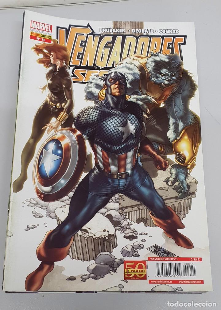 VENGADORES SECRETOS Nº 11 - ED BRUBAKER - MIKE DEODATO / MARVEL PANINI (Tebeos y Comics - Panini - Marvel Comic)