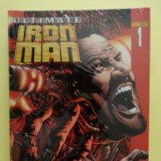 Cómics: ULTIMATE IRON MAN VOLUMEN 1 Y 2 + ARMOR WARS + VS HULK. COLECCIÓN COMPLETA 8 NÚMEROS. 2006-2010. Lote 140419414