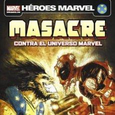 Cómics: MASACRE CONTRA EL UNIVERSO MARVEL PANINI ESPAÑA. Lote 140462926