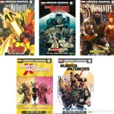 Cómics: NUEVOS MUTANTES VOL.2 (PANINI) .- TOMOS 01,02,04,05 Y 06 (DE 6). NUEVOS Y REBAJADOS.. Lote 140480858