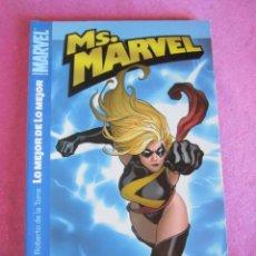 Cómics: MS. MARVEL LO MEJOR DE LO MEJOR.. EXCELENTE..ESTADO. Lote 141190622