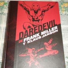 Cómics: DAREDEVIL LA ETAPA COMPLETA DE FRANK MILLER / KLAUS JANSON MARVEL PANINI 2.016 PASTA DURA COLOR 880 . Lote 141953006