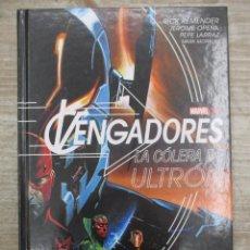 Cómics: VENGADORES - LA COLERA DE ULTRON- NOVELA GRAFICA -TAPA DURA - PERFECTO - MARVEL COMICS PANINI. Lote 142028250