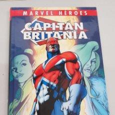 Cómics: CAPITAN BRITANIA DE ALAN MOORE - ALAN DAVIS / MARVEL HEROES / PANINI. Lote 142071174