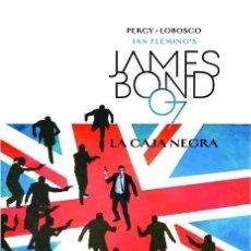 Cómics: LOTE 2 CÓMICS DE JAMES BOND TAPA DURA - LA CAJA NEGRA Y LISTA MORTAL. Lote 142779174