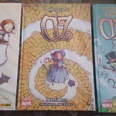 Cómics: EL MAGO DE OZ , DOROTHY Y EL MAGO DE OZ , EL CAMINO A OZ - LOTE 3 NÚMEROS- TAPA DURA -. Lote 143047530