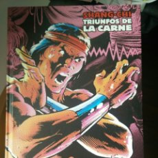 Cómics: MLE SHANG CHI TRIUNFOS DE LA CARNE. Lote 143586350