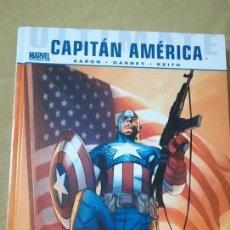 Cómics: CAPITÁN AMERICA DE JASON AARON Y RON GARNEY-ULTIMATE-NOVELA GRAFICA PANINI. Lote 143852924