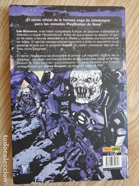 Cómics: RESISTANCE Costa Perez Smith ADAPTACIÓN AL CÓMIC DEL VIDEOJUEGO Tomo Único PANINI comics - Foto 2 - 143899830
