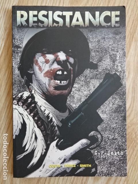 RESISTANCE COSTA PEREZ SMITH ADAPTACIÓN AL CÓMIC DEL VIDEOJUEGO TOMO ÚNICO PANINI COMICS (Tebeos y Comics - Panini - Otros)