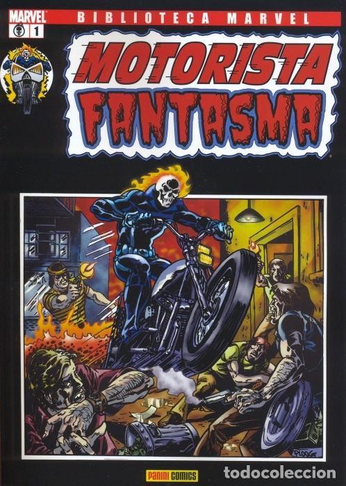 MOTORISTA FANTASMA 1 AL 3 COMPLETA -BIBLIOTECA MARVEL (Tebeos y Comics - Panini - Marvel Comic)