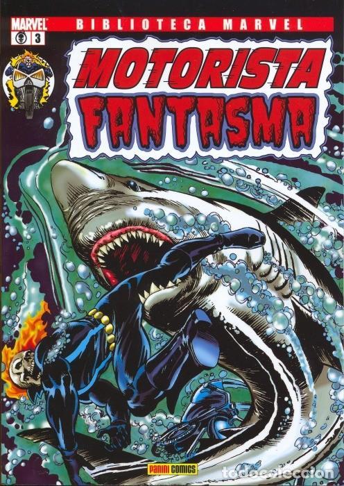 Cómics: Motorista Fantasma 1 al 3 completa -Biblioteca Marvel - Foto 3 - 143913302