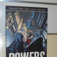 Cómics: POWERS IDENTIDAD SECRETA COLECCION 100% CULT COMICS - PANINI OFERTA (ANTES 19,95 €). Lote 144030906