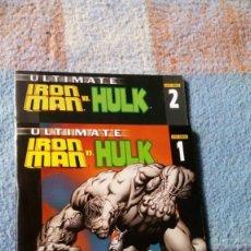 Cómics: IRON MAN VERSUS HULK /1Y 2. Lote 144946690