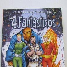Cómics: COLECCION EXTRA SUPERHEROES : LOS 4 FANTASTICOS 2 : DE IDA Y VUELTA TOMO 384 PAG PANINI SDX17. Lote 145013670