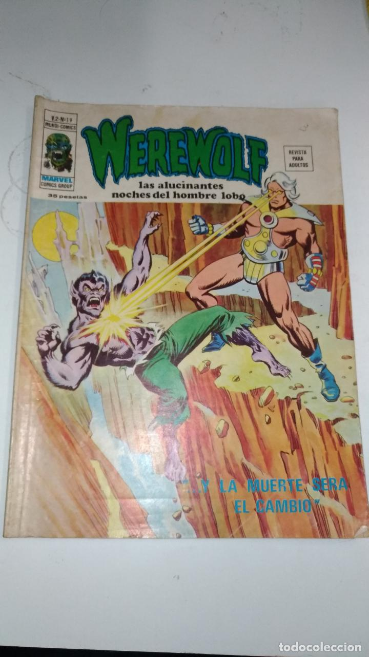 Cómics: Werewolf. Marvel comics group. V2 nº 19. Vertice. 1976 Barcelona - Foto 1 - 145038038