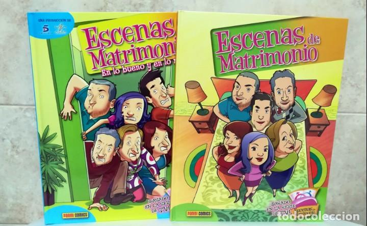 ESCENAS DE MATRIMONIO - LOTE 2 COMICS - BASADOS EN LA SERIE DE TV (Tebeos y Comics - Panini - Otros)