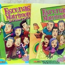 Cómics: ESCENAS DE MATRIMONIO - LOTE 2 COMICS - BASADOS EN LA SERIE DE TV. Lote 145865382