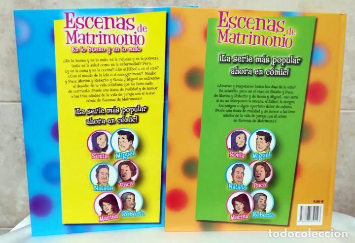 Cómics: ESCENAS DE MATRIMONIO - LOTE 2 COMICS - BASADOS EN LA SERIE DE TV - Foto 2 - 145865382