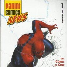 Cómics: PANINI COMICS NEWS PANINI ESPAÑA LOTE 6 Nº.. Lote 146192022