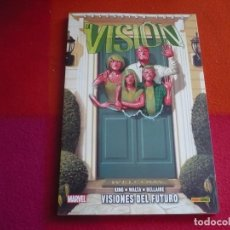 Cómics: LA VISION 1 VISIONES DEL FUTURO ( KING WALTA ) ¡MUY BUEN ESTADO! 100% MARVEL PANINI. Lote 146268746