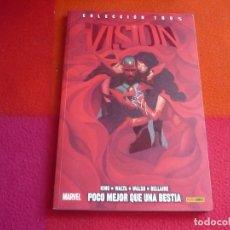 Cómics: LA VISION 2 POCO MEJOR QUE UNA BESTIA ( KING WALTA ) ¡MUY BUEN ESTADO! 100% MARVEL PANINI. Lote 146268890