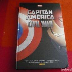 Cómics: CAPITAN AMERICA CIVIL WAR INTEGRAL ( BRUBAKER EPTING ) ¡BUEN ESTADO! TAPA DURA MARVEL PANINI. Lote 146493546