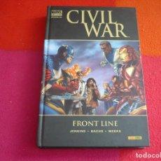 Cómics: CIVIL WAR FRONTLINE PRIMERA LINEA ( JENKINS BACHS ) ¡BUEN ESTADO! TAPA DURA MARVEL DELUXE PANINI. Lote 146493870