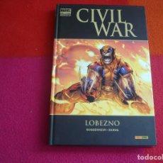Cómics: CIVIL WAR LOBEZNO ( GUGGENHEIM RAMOS ) ¡BUEN ESTADO! TAPA DURA MARVEL DELUXE PANINI. Lote 146494038