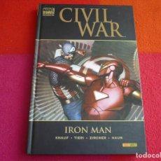 Cómics: CIVIL WAR IRON MAN ( KNAUF TIERI ) ¡BUEN ESTADO! TAPA DURA MARVEL DELUXE PANINI. Lote 146494234
