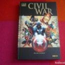 Cómics: CIVIL WAR COMPLETA ( MARK MILLAR MCNIVEN) ¡BUEN ESTADO! TAPA DURA MARVEL DELUXE PANINI. Lote 161000508
