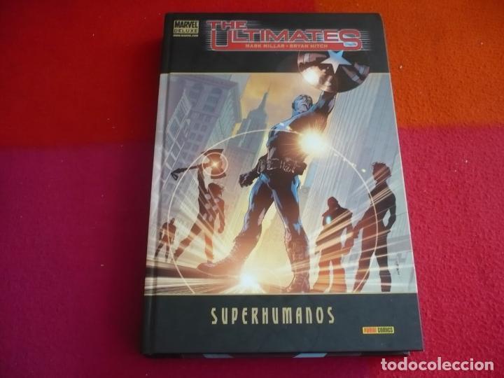 THE ULTIMATES 1 SUPERHUMANOS ( MILLAR HITCH ) ¡BUEN ESTADO! TAPA DURA MARVEL DELUXE PANINI (Tebeos y Comics - Panini - Marvel Comic)