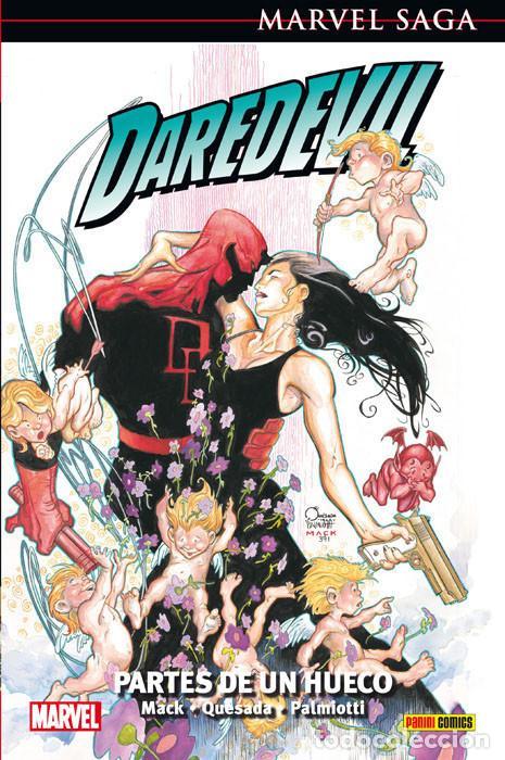 MARVEL SAGA. DAREDEVIL 2 PARTES DE UN HUECO PANINI CÓMICS (Tebeos y Comics - Panini - Marvel Comic)