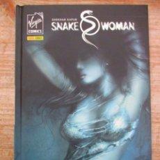 Cómics: SNAKE WOMAN UNA SERPIENTE ENTRE LA HIERBA - SHEKHAR KAPUR -TAPA DURA - VIRGIN COMICS. Lote 147063142