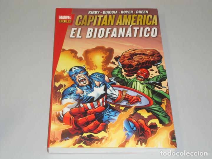 MARVEL GOLD CAPITAN AMÉRICA EL BIOFANATICO (Tebeos y Comics - Panini - Marvel Comic)