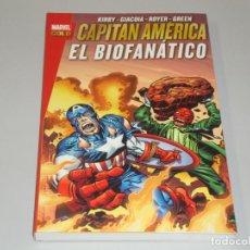 Cómics: MARVEL GOLD CAPITAN AMÉRICA EL BIOFANATICO. Lote 147502790