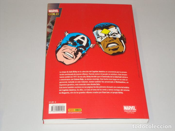 Cómics: Marvel gold Capitan América El biofanatico - Foto 2 - 147502790